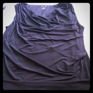 Lane Bryant tank top dress shirt